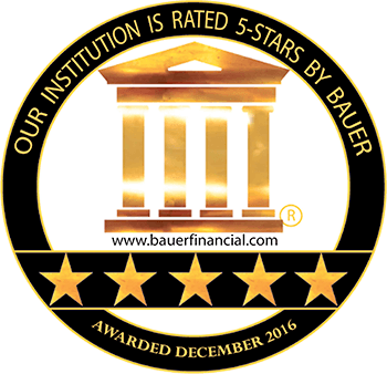 Bauer 5-Star Financial Rating